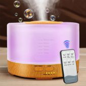 Aroma Humidifier with BlueTooth Speaker & 7 Mood Color Changer